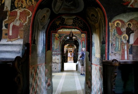 Spalvotieji Bukovinos vienuolynai