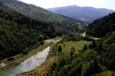 Bicaz dirbtinis ežeras - užtvanka