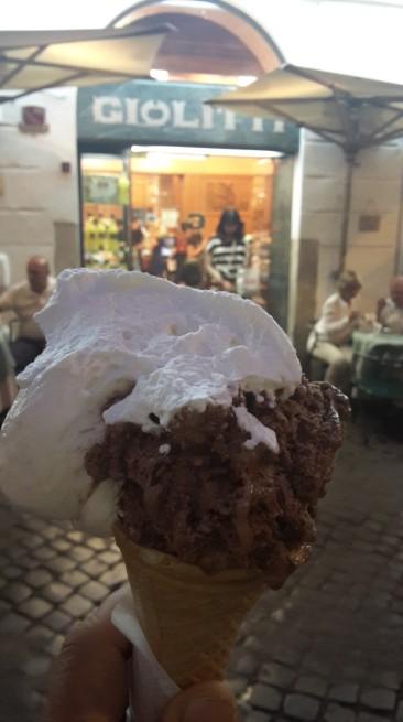 Ledai iš Giolitti ledainės.