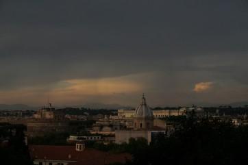Romos panorama nuo kalvos.