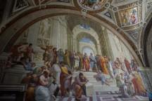 Vatikano muziejus, Rafaelis, Atėnų mokykla.