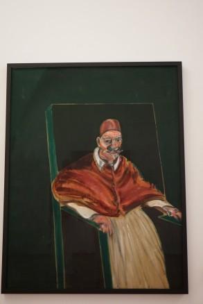 Vatikano muziejus, Francis Bacon, Study for Velazquez Pope II
