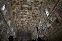 Vatikanas, Siksto koplyčios lubos, Mikelandželas.