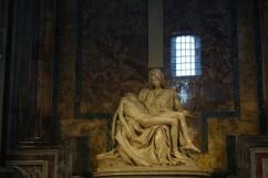 Vatikanas, šv. Petro bazilika, Mielandželo Pieta.