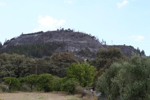 Išdegę kalnai šalia Georgioupoli