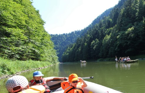 Plaukimas Dunajeco upe
