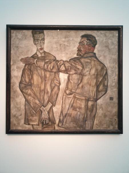 LENTOS Kunstmuseum Linz, Austrija. Egon Schiele