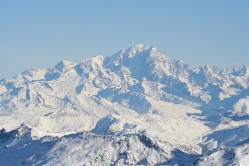 Monblano viršūnė, Les 3 Vallées (Trys slėniai), Val Thorens, Prancūzija