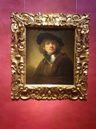 Uffizi galerija, Rembrandto autoportretas