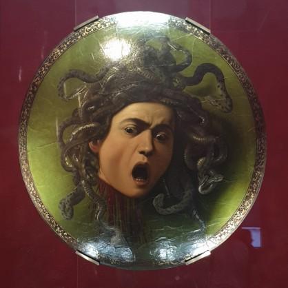 Uffizi galerija, Caravagio