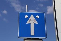 Clet Abraham kelio ženklai