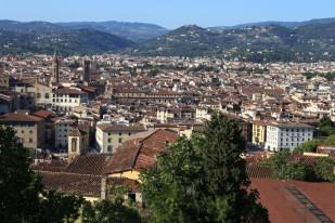 Florencija nuo Forte di Belvedere