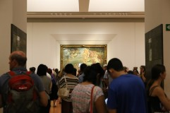 "Uffizi galerija, Sandro Botticelli ""Veneros gimimas"""