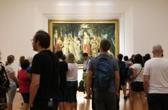 "Uffizi galerija, Sandro Botticelli ""Primavera"""