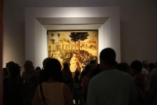 Uffizi galerija, Leonardas da Vinčis