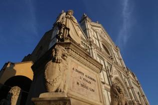 Santa Croce ir Dantės paminklas
