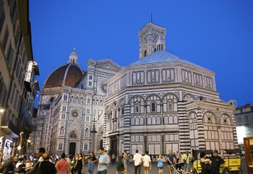 Duomo Santa Maria del Fiore ir krikštykla
