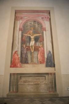 Santa Maria Novella, Masaccio šv. Trejybė