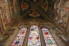 Santa Maria Novella freskos ir vitražai
