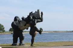 Kuresarės skulptūra