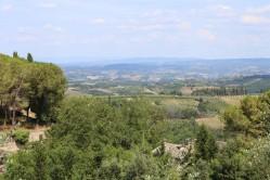 San Gimignano apylinkės