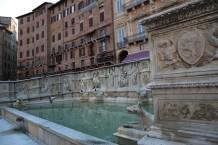 Siena, fontanas Piazza del Campo