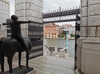 Vaizdas iš Peggy Guggenheim muziejaus terasos
