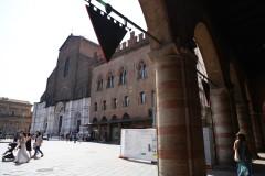 Piazza Maggiore ir San Petronio bazilika