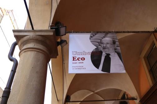 Umberto Eco profesoriavo Bolonijos universitete
