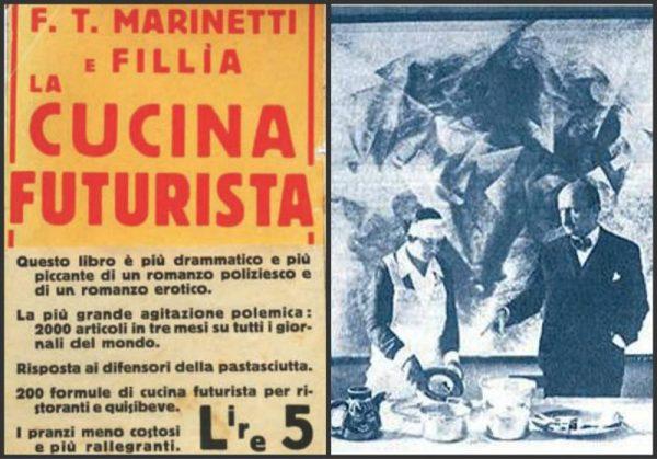 Filippo Tommaso Marineti, Futurist Cookbook