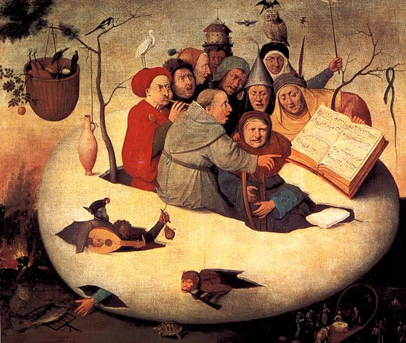 Hieronymus Bosch, Concert in the Egg, 1561