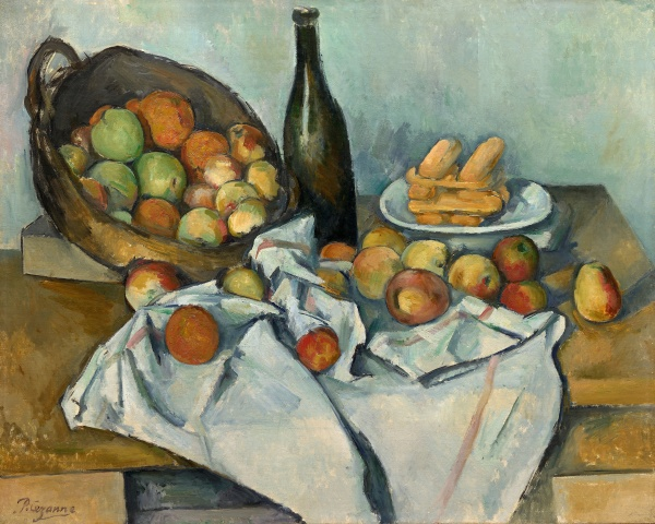 Paul Cezanne, The_Basket of Apples, 1926, Art Institute of Chicago.