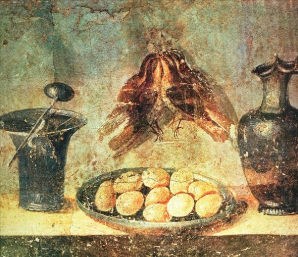 Wall painting. Pompeii, House of Giulia Felice, 79 BC National Archaeological Museum, Naples.