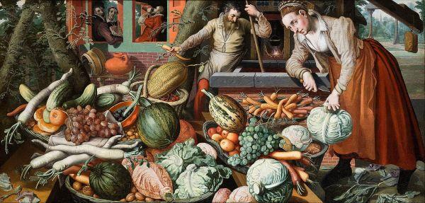 Pieter Aertsen, Market Scene, 1569