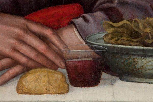 Plautilla Nelli, The Last Supper, detail, 1568.