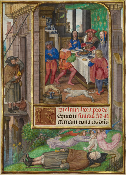 Master of James IV of Scotland, The Feast of Dives, about 1510 – 1520 (Collection: The J. Paul Getty Museum)