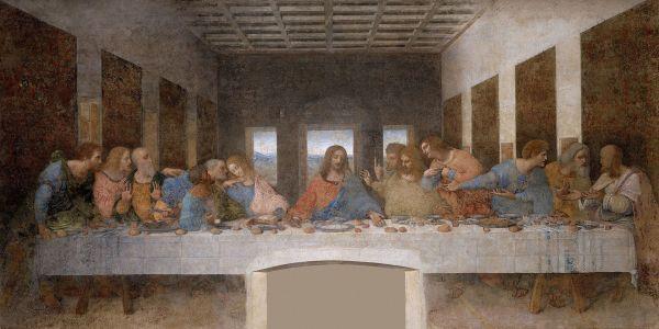 Leonardo Da Vinci, The Last Supper, 1495-1498.