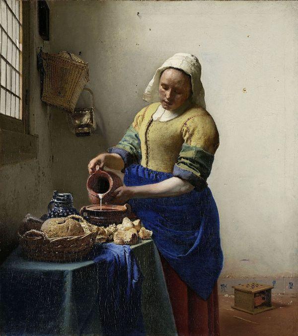 Jan Vermeer, The Milkmaid, 1660