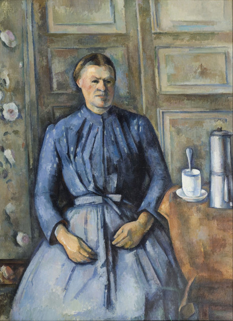 Paul Cezanne, Woman With a Coffeepot, 1895.