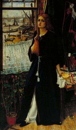 John Roddam Spencer Stanhope, Thoughts of the Past, 1859.