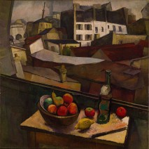 Diego Rivera, Knife and Fruit in Front of the Window, 1917.