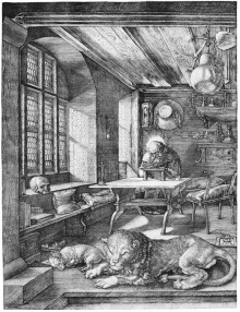 Albrecht Dürer, St. Jerome in his Study, 1514.