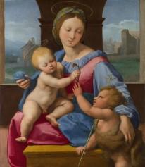 Raphael Sanzio, Aldobrandini Madonna (Madonna Lord Garvagh), 1510.