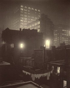 Alfred Stieglitz, From the Back Window at 291 New York, 1915.