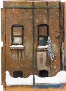 Alice Neel, Rag in Window, 1959.