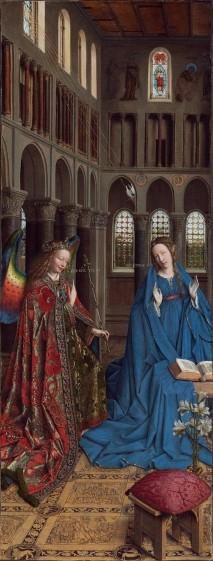 Jan van Eyck, Annunciation, 1434.