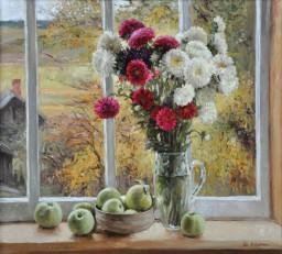 Yuri Viktorovich Kudrin, Autumn Outside the Window, 1999.