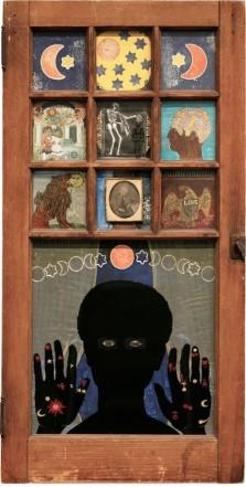 Betye Saar, Black Girls Window, 1969.