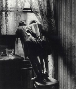Bill Brandt, View from Van Gogh's room, Asylum of St. Paul de Mausole Saint Remy de Provence, 1950.