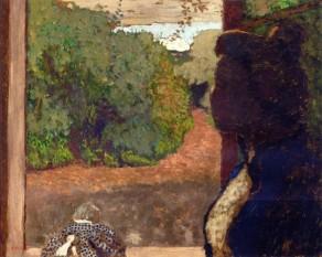 Édouard Vuillard, At the Window.